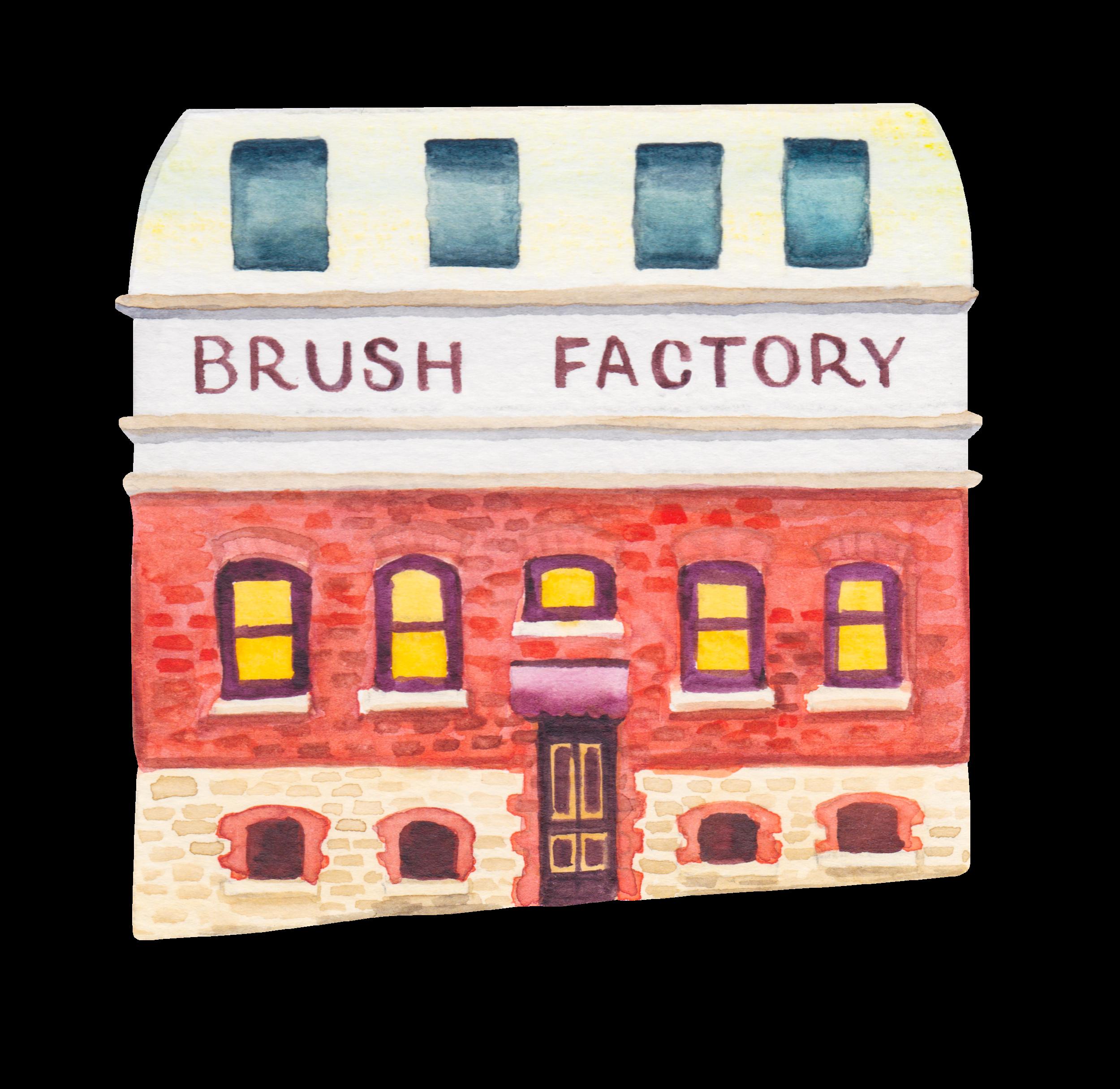 15. Swan Brush Factory