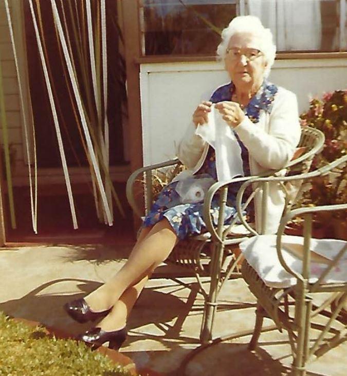 Ida Bathgate at 20 Staton St c. 1960s