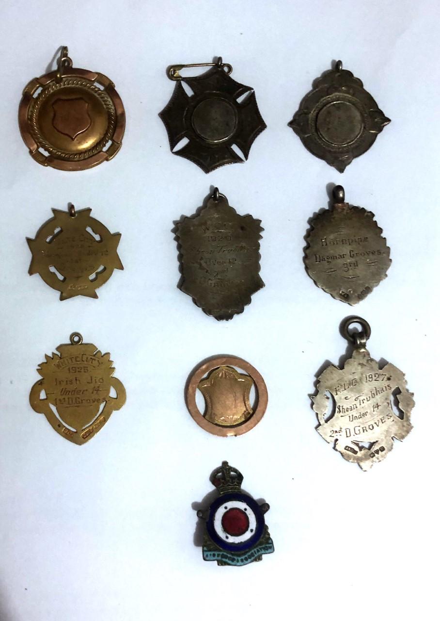 Medals of Dagmar Wenham
