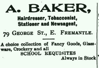 1905 Mr Baker Ad