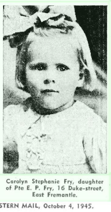 Carolyn Fry 1945