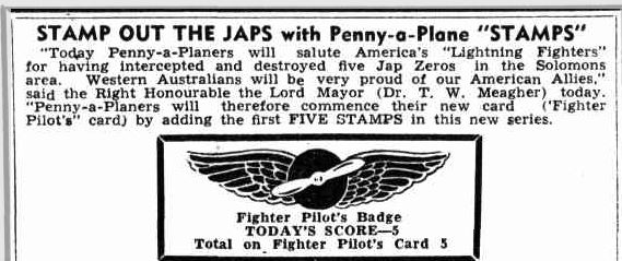 1942 Penny a plane appeal