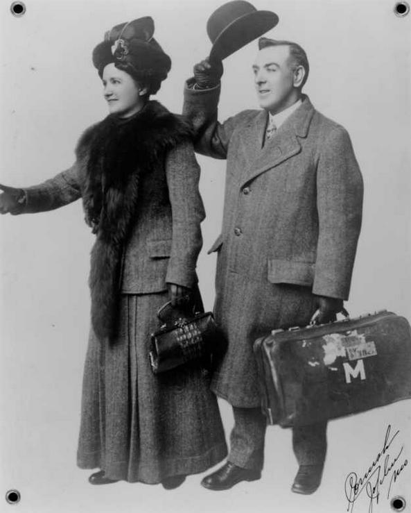 Arthur and Mary Jane return to the UK c 1912