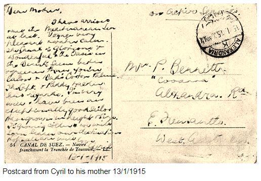 Postcard 1915
