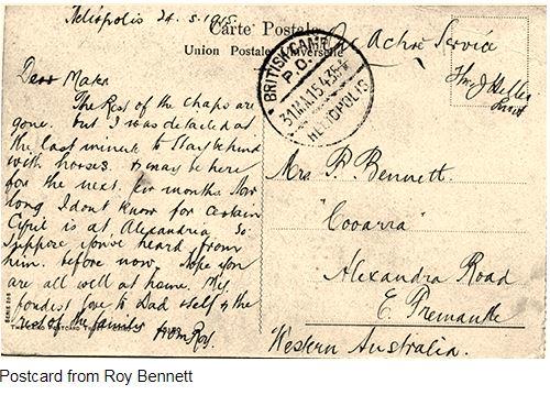 Postcard 2 1915