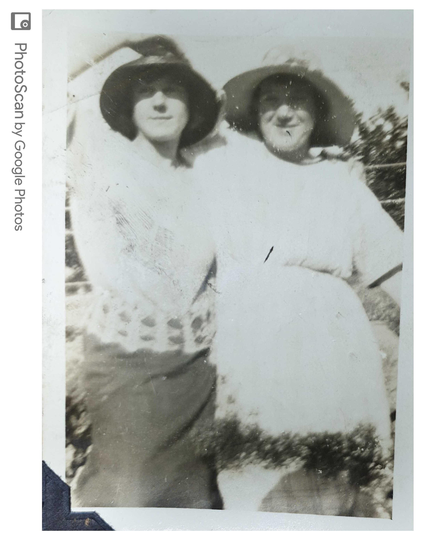 Irene on right