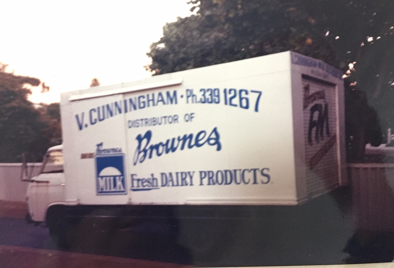 Cunningham milk truck 1977