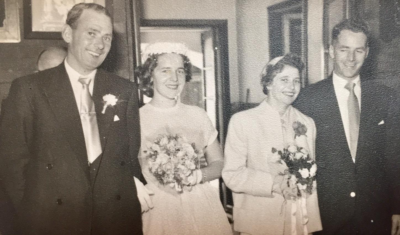 Wedding photo 1957