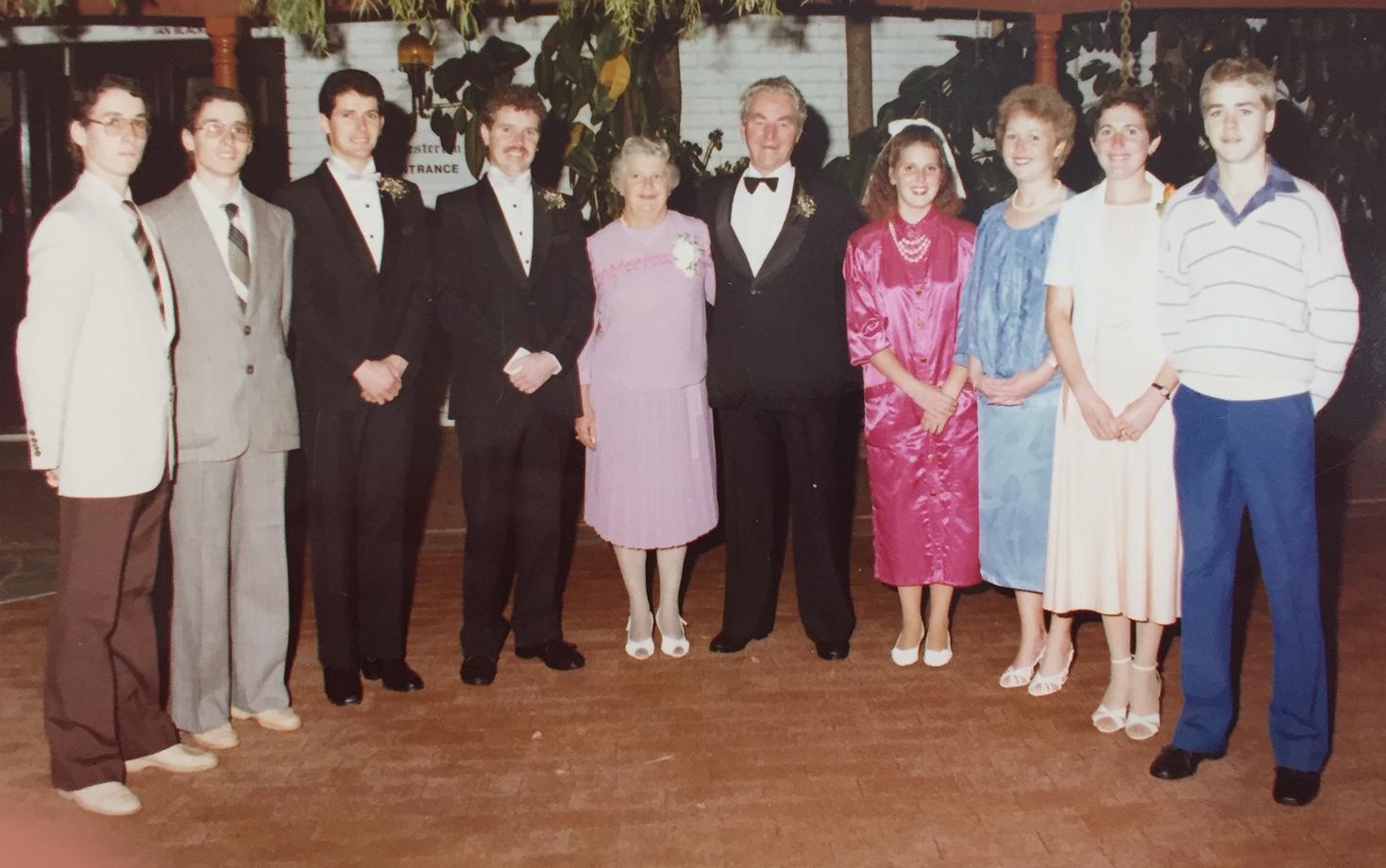 Cunningham family 1988
