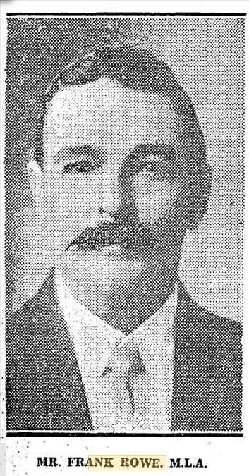 Frank Rowe 1930