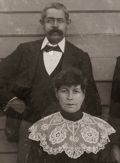 Matilda Drummond and George Lacey c 1900rtesy