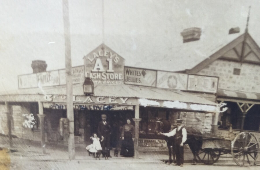Laceys store c 1907