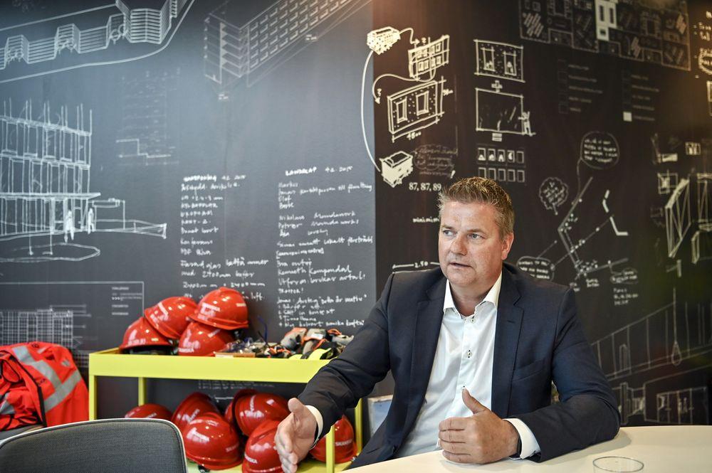 Mr. Anders Danielsson, CEO, Skanska (Credit: Mikael Sjoberg/Bloomberg)