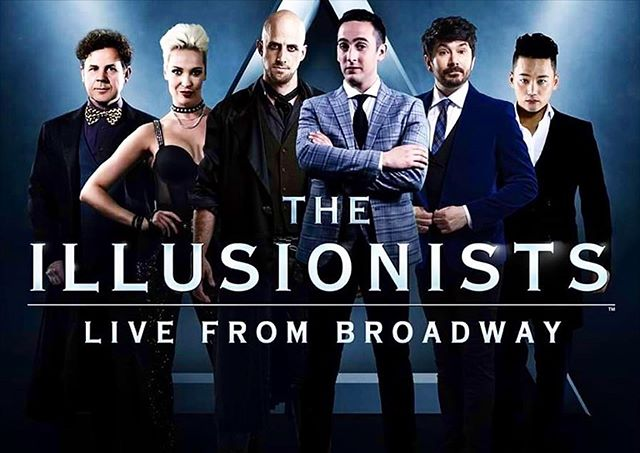 Very excited to announce that I'll be joining the cast of @theillusionistslive First stop Hawaii 💫 . . . . . #theillusionists #thedelusionist #magic #live #hawaii #illusionist
