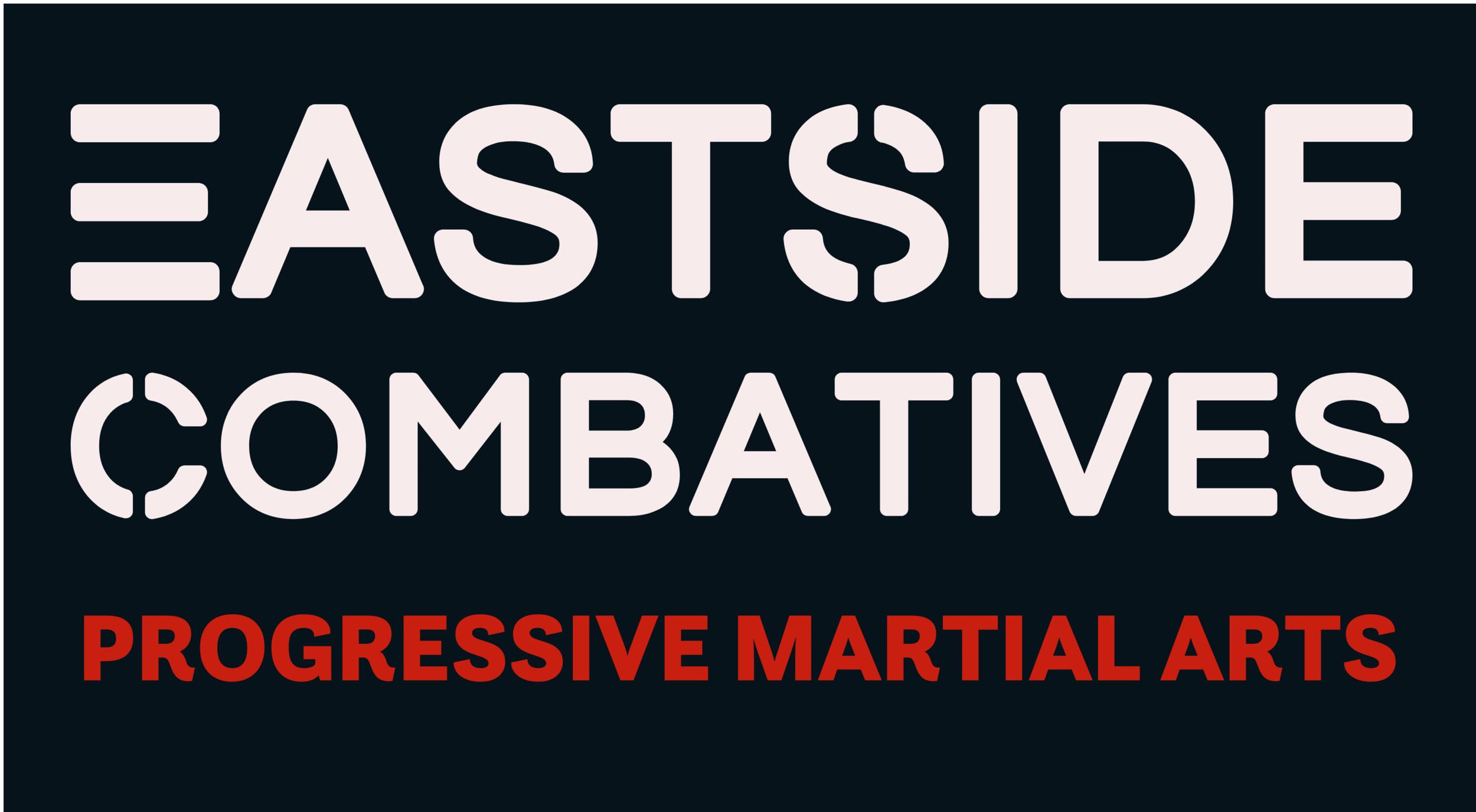 EastSide Combatives Class - EastSide Combatives Classes are offered every Thursday and covers practical and realistic martial arts and combatives training that is effective and usable in today's world. We work with empty hands, stick, knife and firearms as these are the tools of modern personal protection and self defense. Slots are limited for these classes so please reserve your spot ahead of time and we'll see you in class!For more information about the philosophy and teachings of EastSide Combatives Progressive Martial Arts, visit https://www.eastsidecombatives.com