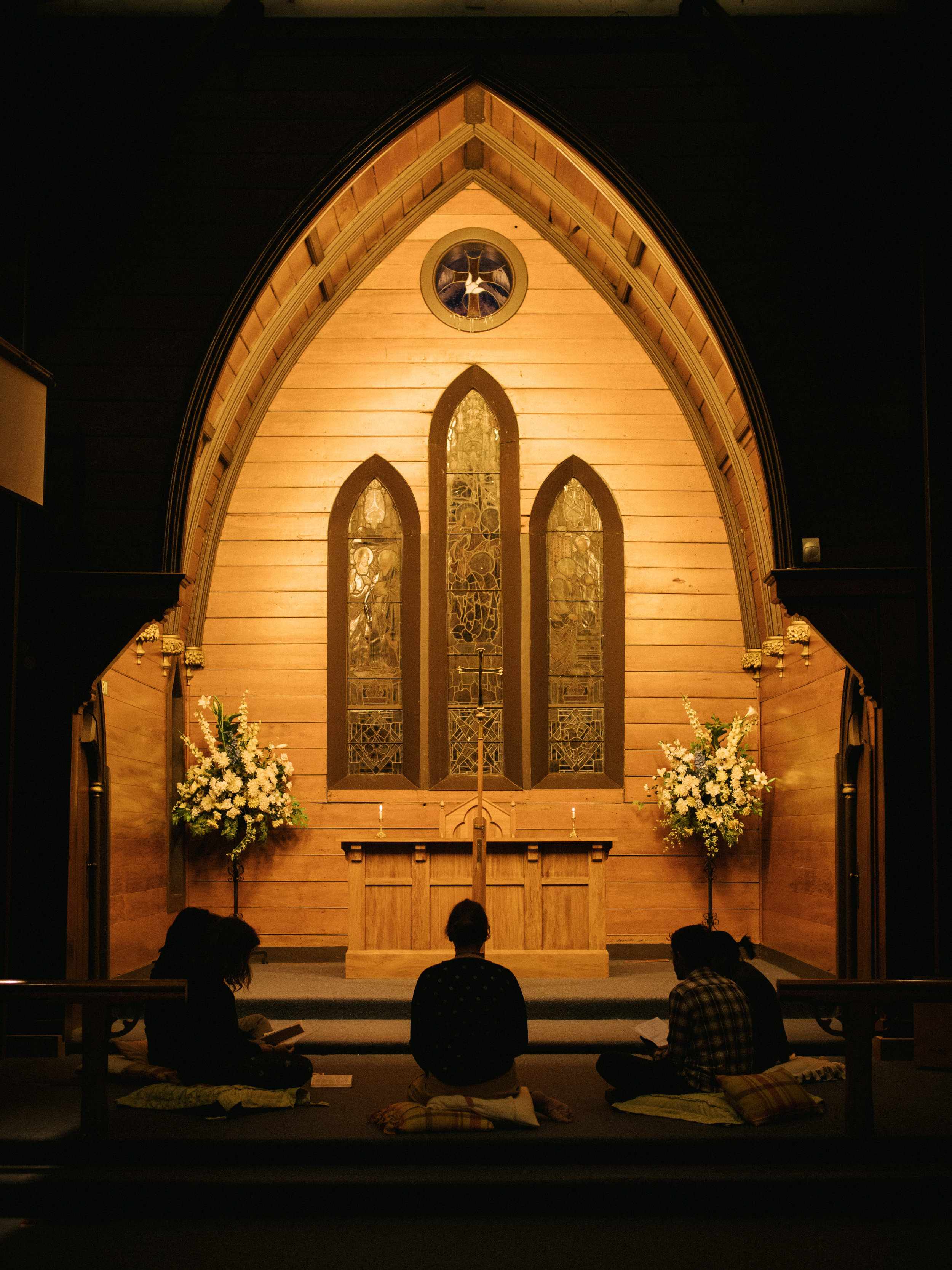 DAILY PRAYER - We meet for daily prayer, Monday - Friday, at 7am and 9pm. We follow a simple modern liturgy.