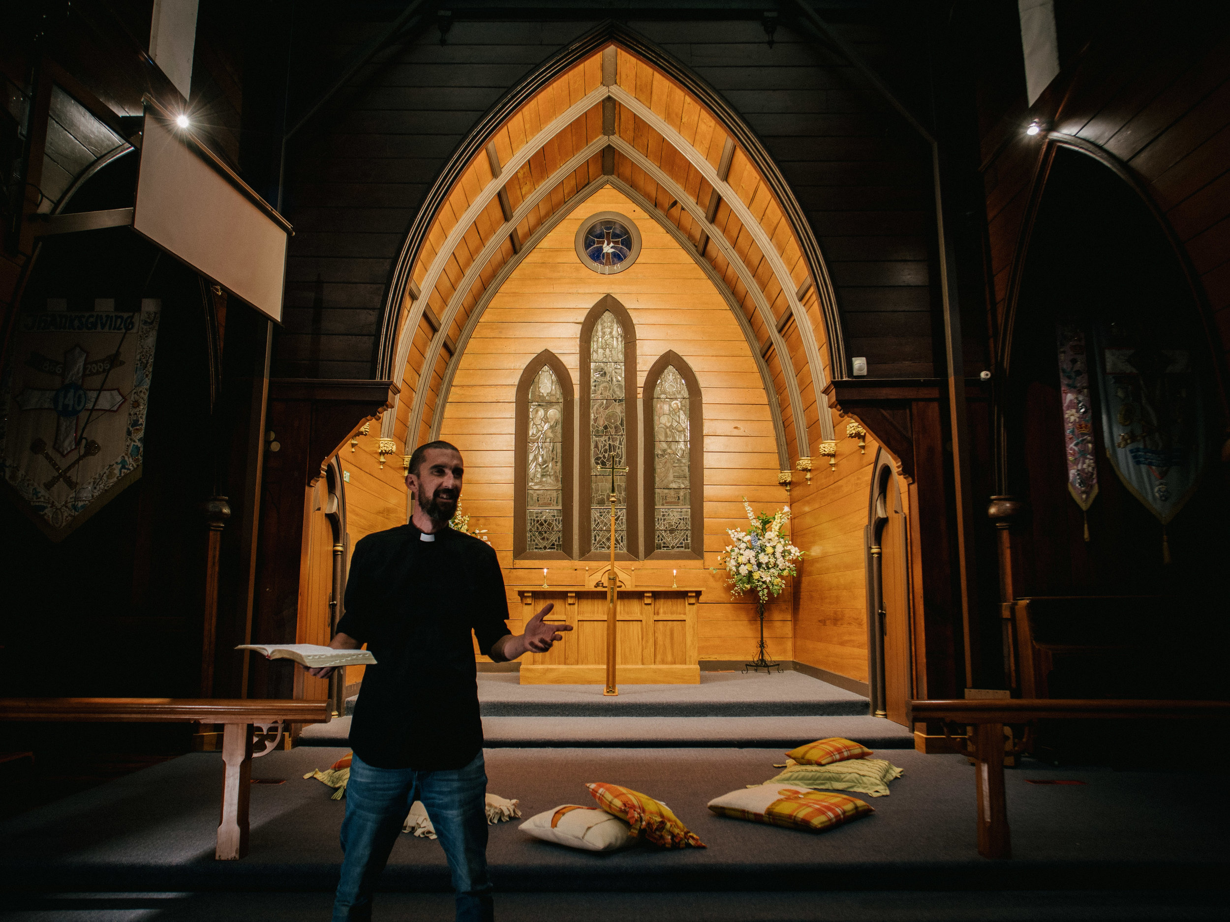 Worship ServiceS - We meet weekly at 5pm on a Sunday for a simple short service followed by a shared meal. This includes children and youth programmes during the service.There is also a weekly traditional Wednesday Eucharist service at 1pm that uses the Anglican NZ Prayer Book.