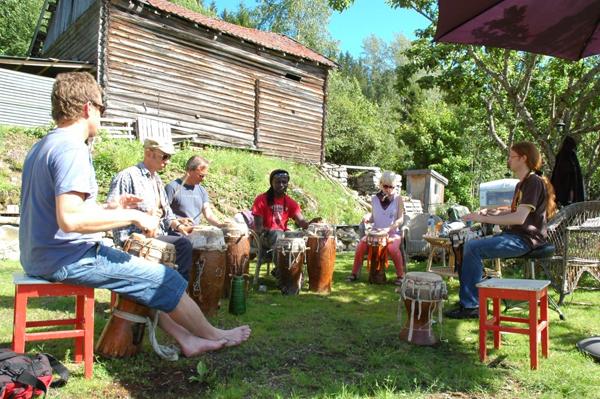 MBALAX percussion workshop