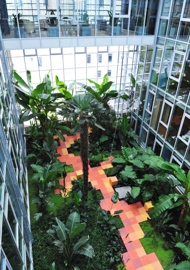 Le jardin après quelques années (plantation 2008 - photo 2013)