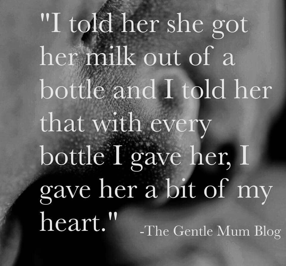 (Image and quote via  The Gentle Mum Blog )