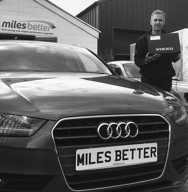 Today we gave this impressive Audi A4 an extra 40 brake horse power and 80Nm torque! #MilesBetter #remap #madaboutcars . #audi #audia4 #bhp #power #autolove #enginetuning