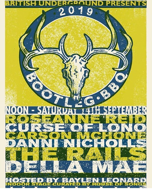 Gonna be hanging at the #BootlegBBQ today! Filming the event with @northerncowboyfilms and playing at 2:45 with the wonderful @danninichollsmusic ! Come and join us and say hello!! • • • #nashville #thegroove #americanafest #americana