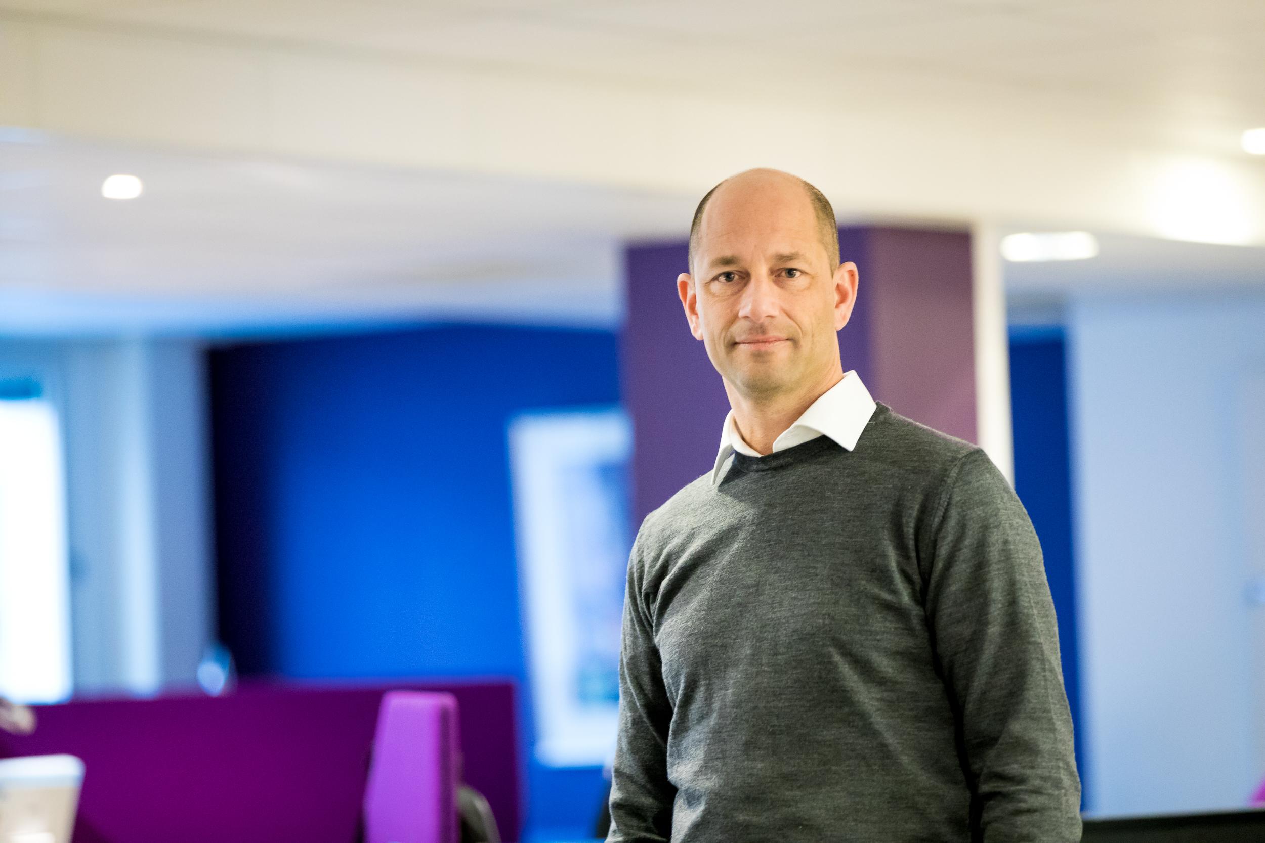 Ronnie Johnsen fra Euro Business School er en av foredragsholderne på frokostmøtene til Skåppå kunnskapspark.