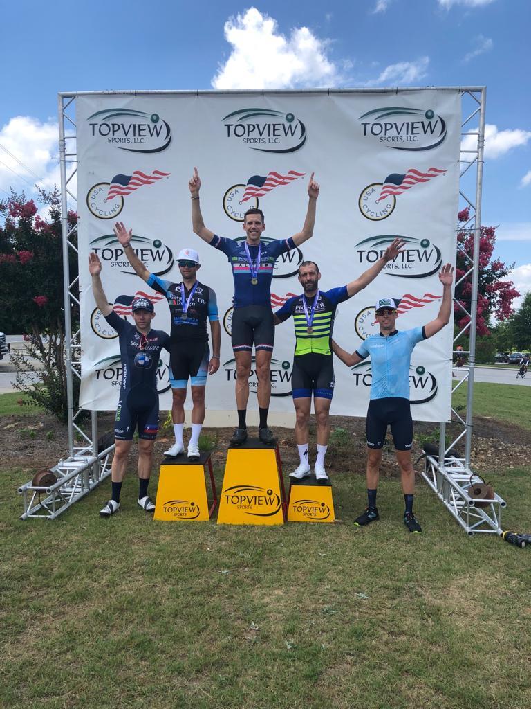 Alcova Road Race Southeast Regional Masters Champ Podium