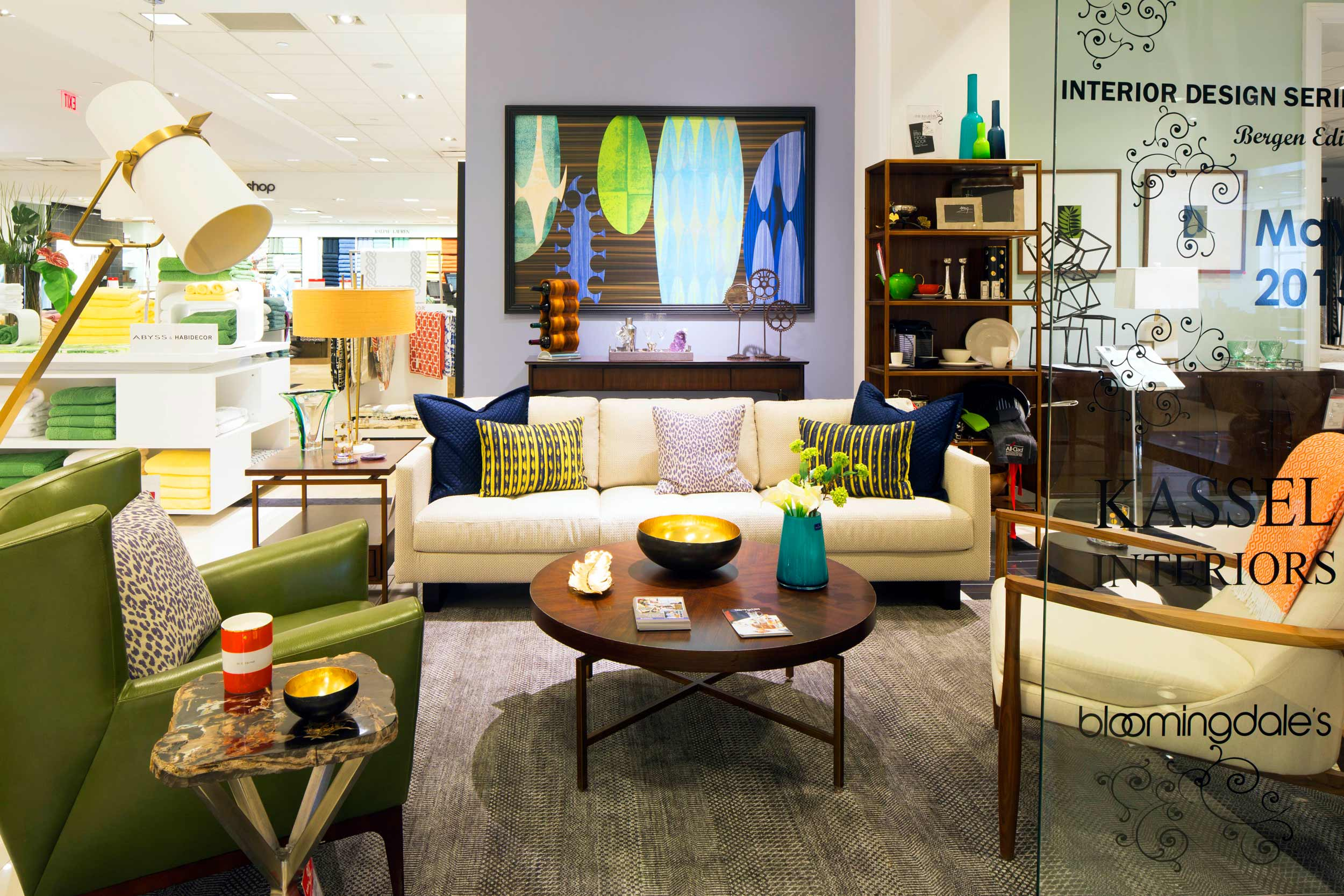 Kassel Interiors: Anita Kassel Bloomingdales Project