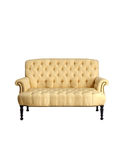 Napoleon III Tufted Sofa