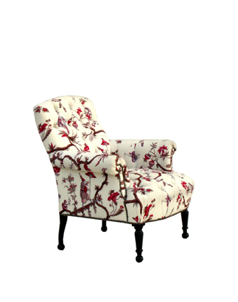 Napoleon III Tufted Chair