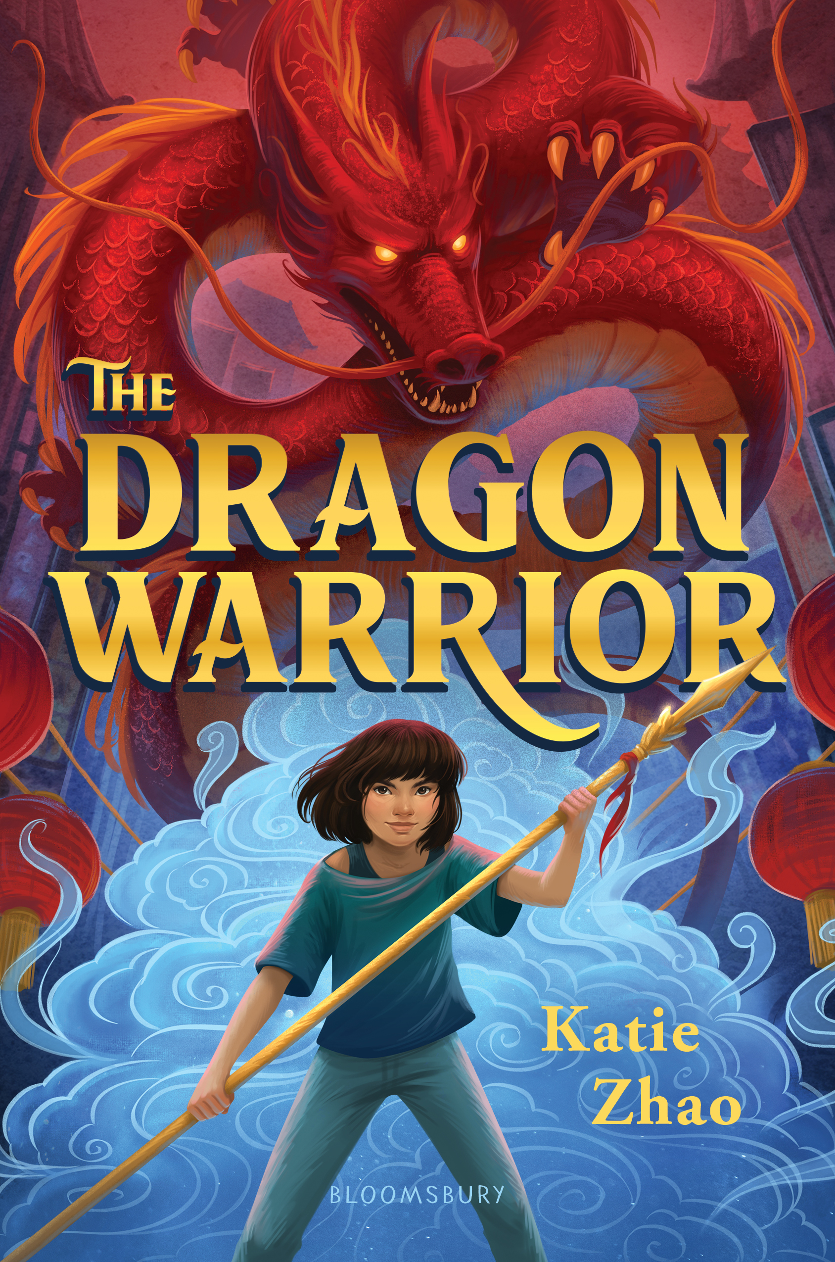 THE DRAGON WARRIOR is to be released on October 15, 2019 by Bloomsbury Kids USA.