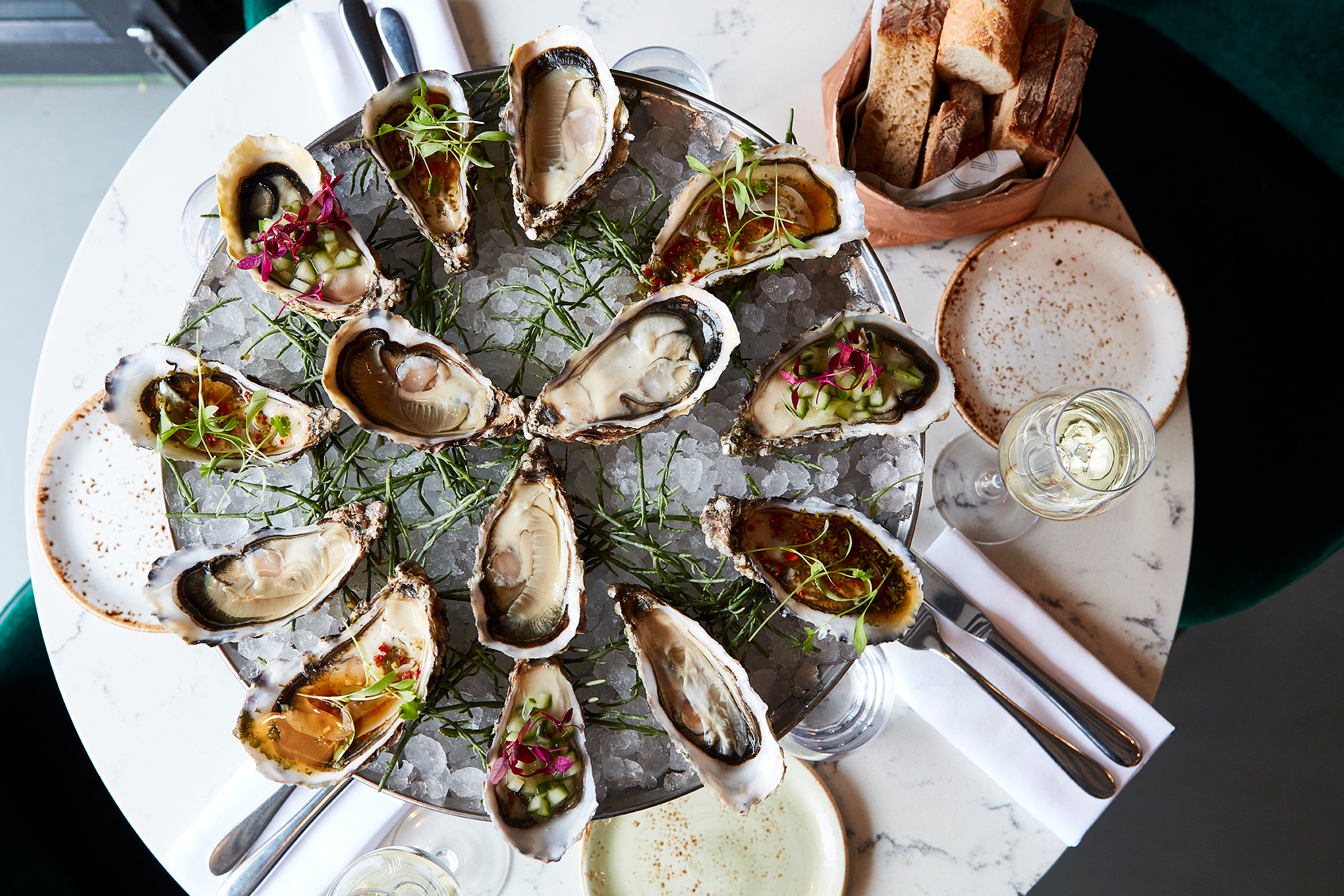 oysters & Seafood - Click to view the menu