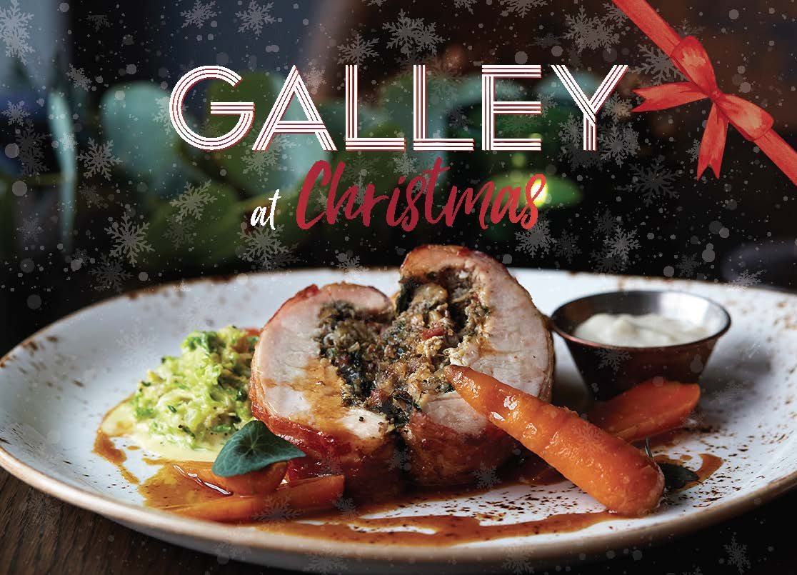 Galley at Christmas - Party Set Menu 2019Book before 1st October and receive a free bottle of bubbles