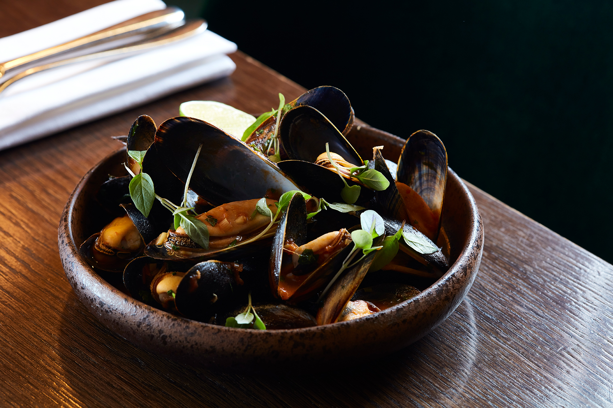 Mussels madness - Every Wednesday enjoy unlimited mussels £10 per person and +£15 bottle of wine to share for 1.5hr