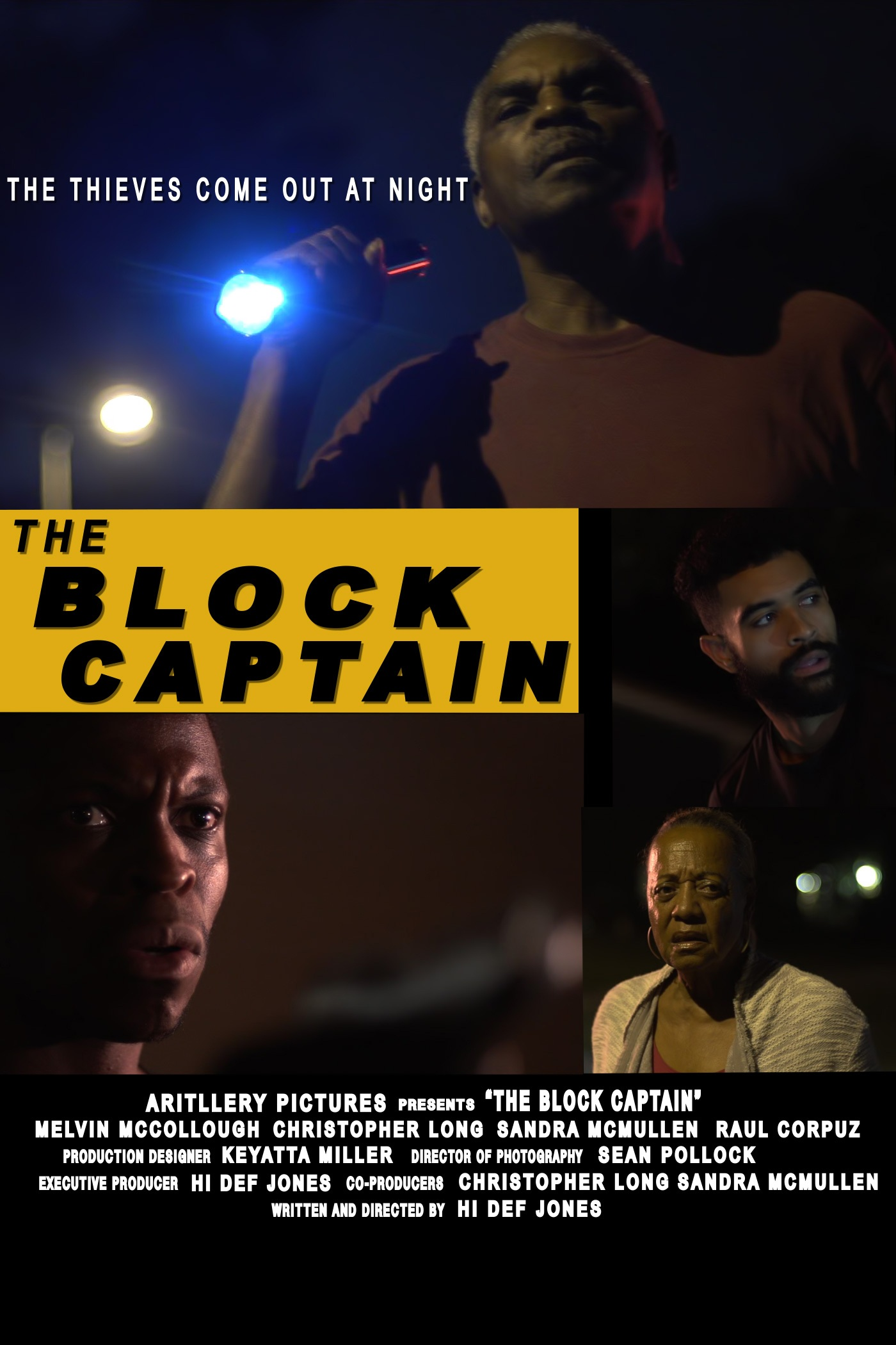'The Block Captain' by Derek 'Hi Def' Jones. January 2019. -  On Set Audio.