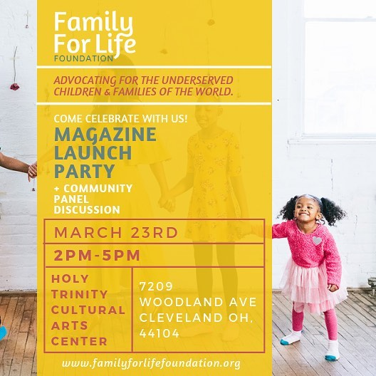 We invite you to come celebrate the launch of our family resource magazine! Join our family as we discuss issues & solutions within our community over light refreshments and activities for the whole family! . . . . . . . #family #magazine #launch #magazinelaunch #fostercare #adoption #familycare #community #paneldidcussion #clevelandevents #adopt #adoption #fostercarejourney #fostercareawareness