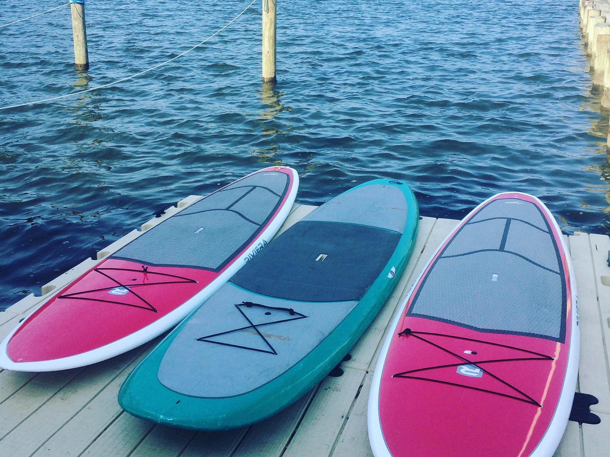 Stand Up Paddleboards - 1hr/$20 - 2hr/$30 - HalfDay/$40 - FullDay/$55 - Week/$125