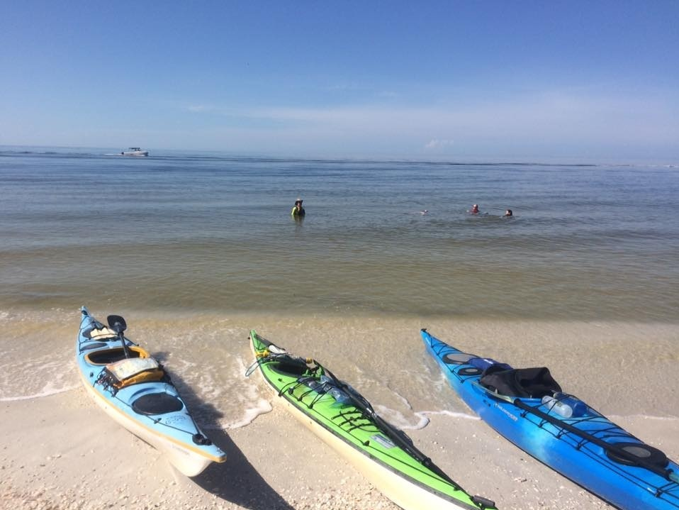 SEASIDE ISLANDS - GUIDED KAYAK TOURSIX HOURS - 125.009 am - 3 pm. Daily guided kayak trip includes lunch. Other meals and lodging are on your own. Prices include kayaks and gear. 10% discount if you bring your own.