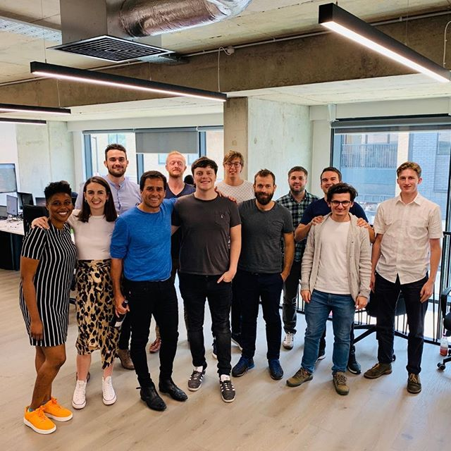 📢 Thank you Alon (Co-founder of Pathmotion) for coming into our BRAND NEW OFFICE and giving us an amazing talk on 'Spreading the Culture'. The Shepper family appreciated you coming in and giving us an engaging talk with lots to think about! 👊⠀ ⠀ Shout out to Henry and Tim who made this happen #ShepperSpeakerSeries ⠀ ⠀ #Shepperfamily #pathmotion #Fridayfriyay #Shepperlearning #Shepperteam #londonstartup #startup #movingonup #insights #cpd #Shepper