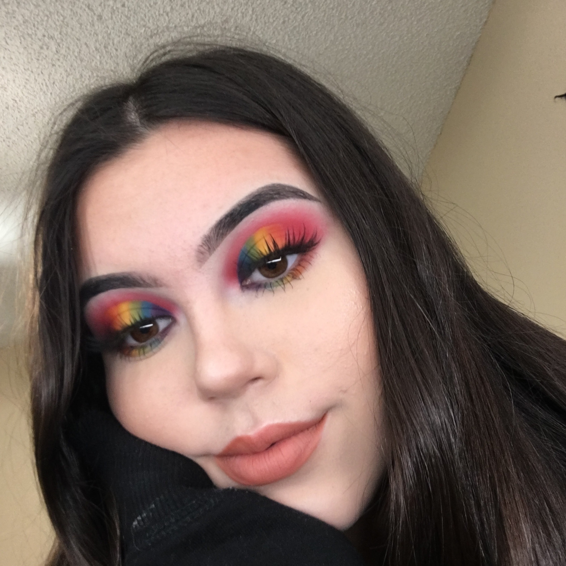 """@cakefacehannahh - Discount Code:""""hannah""""I started really getting into makeup two years ago and ever since , I've loved it. Creating art that's on myself and be proud of the outcome is so incredibly motivating. Some advice I have for any is to keep trying no matter what and watch a lot of YouTube, it's really inspiring !-Hannah"""