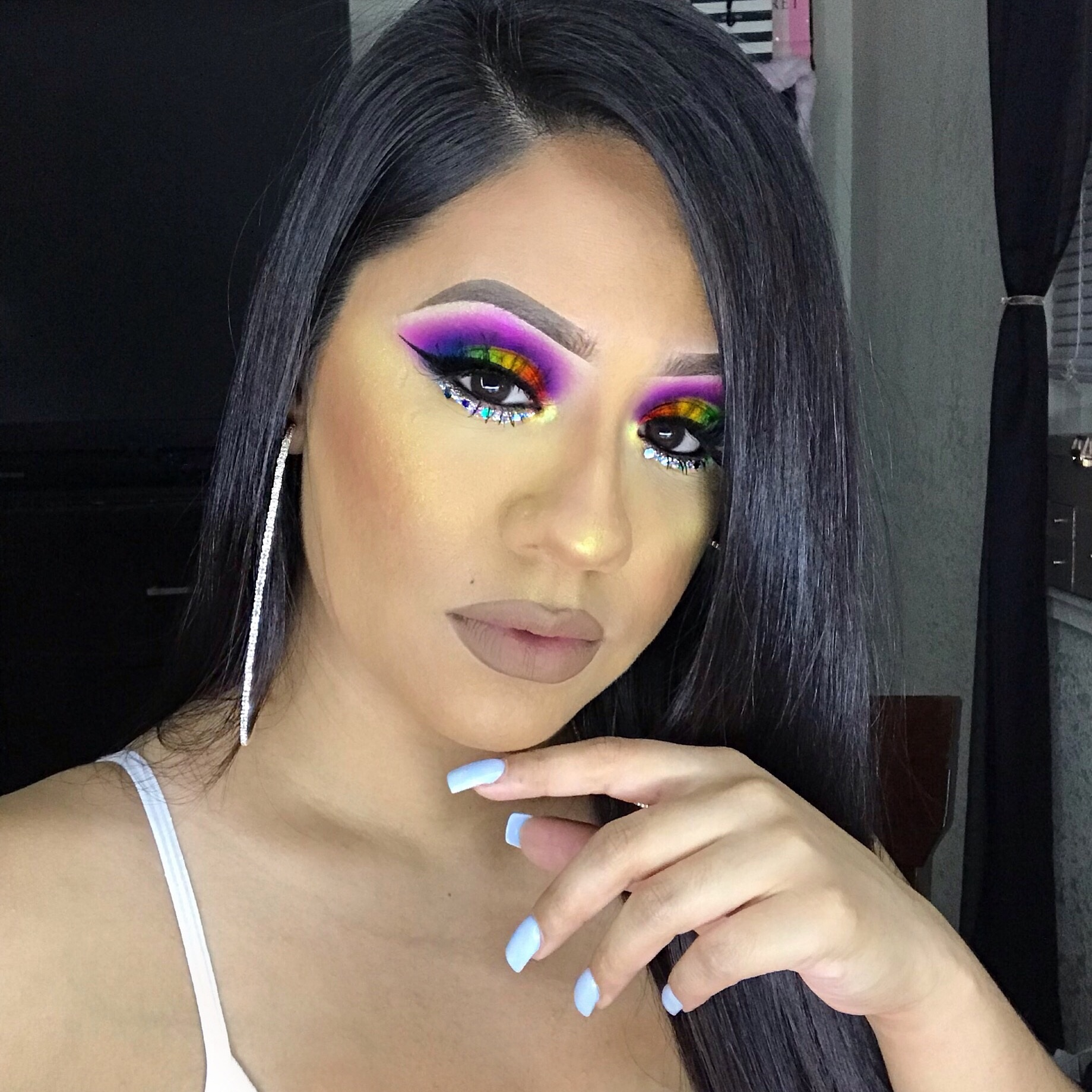 """@prettii_tonii - Discount Code:""""prettiitonii""""I have loved Makeup since I was 12 years old. Now, as an adult and mommy of 3 children, I struggle with adult acne. Makeup allows me to feel CONFIDENT and BEAUTIFUL on the inside and out. Makeup is my armor when I struggle to accept my flaws. Makeup means the world to me. I enjoy creating different looks (especially with glitter), and continue to learn different makeup techniques every day. Thank you so much to everyone who gives me their continued LOVE & SUPPORT on my Makeup Journey. You give me the motivation that I need to keep going!-Toni"""