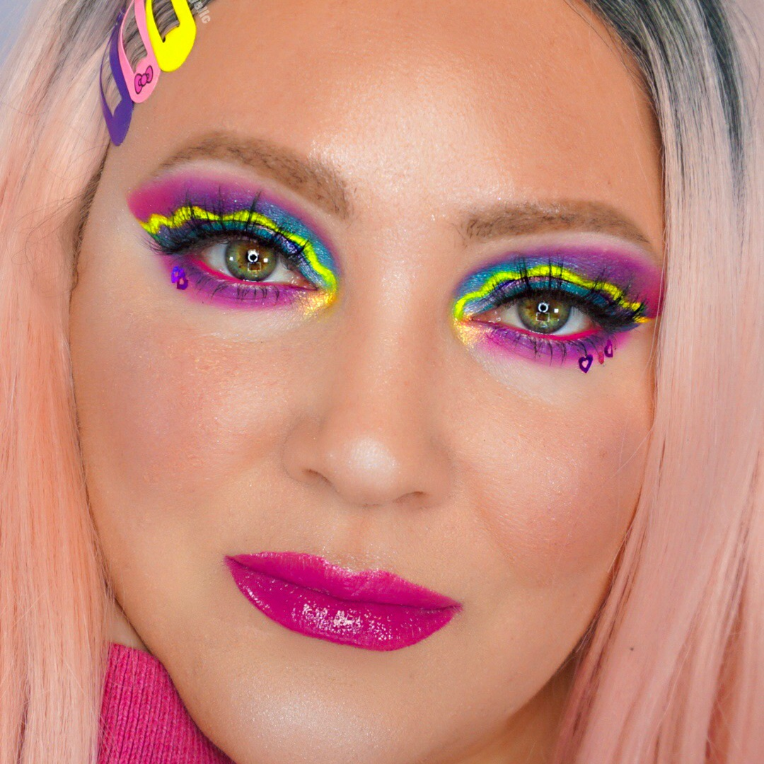 """@angelicheraldglam - Discount Code:""""angelic""""I just want to make the world a more beautiful and colorful place. As Neon Queen of the beauty community I promote equality, inclusivity, acceptance & understanding. And nothing makes me happier than people genuinely supporting one another through this journey.-Angelic"""