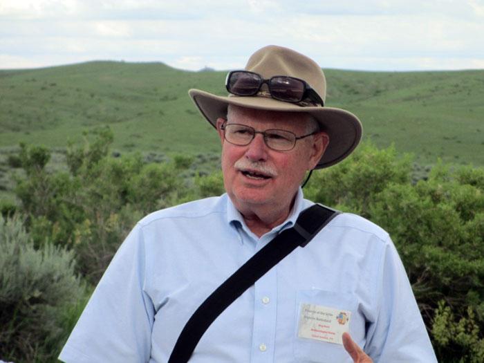 Dr. Douglas D. Scott at the Battle of Little Bighorn park 2013 © Friends of the Little Bighorn Battlefield:  http://www.friendslittlebighorn.com/