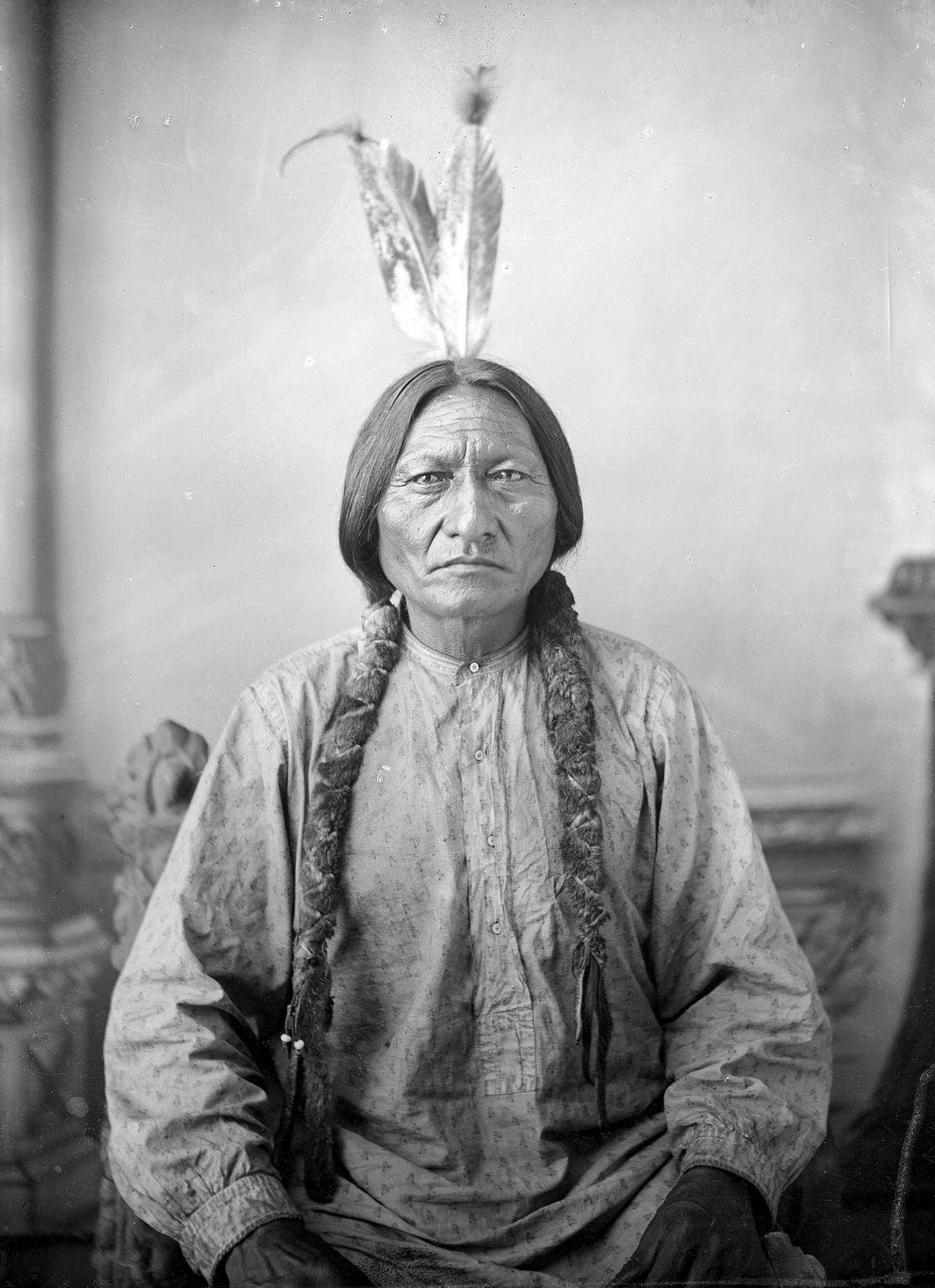 Chief Sitting Bull, Photo 1883