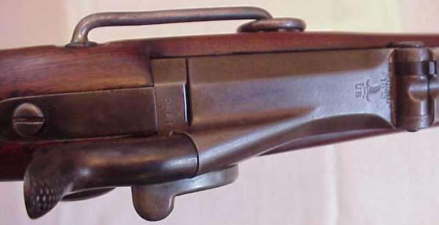Springfield Trapdoor .45 Cal 500 Grain Rifle of the 7th Calvary