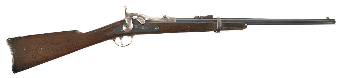 Springfield trapdoor .45 Cal rifle