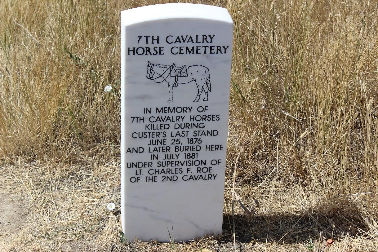 The Calvary Horse grave site