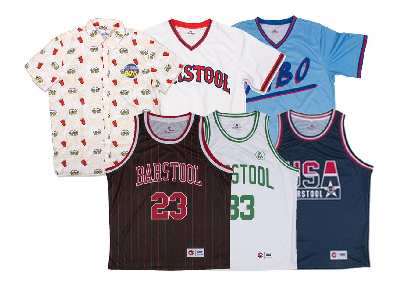 "Barstool Sports - The NYC based media company has an expanding e-commerce business that targets 13-30 year old sports fans. We collaborated to bring them ""bro"" style sports jerseys and Hawaiian shirts."