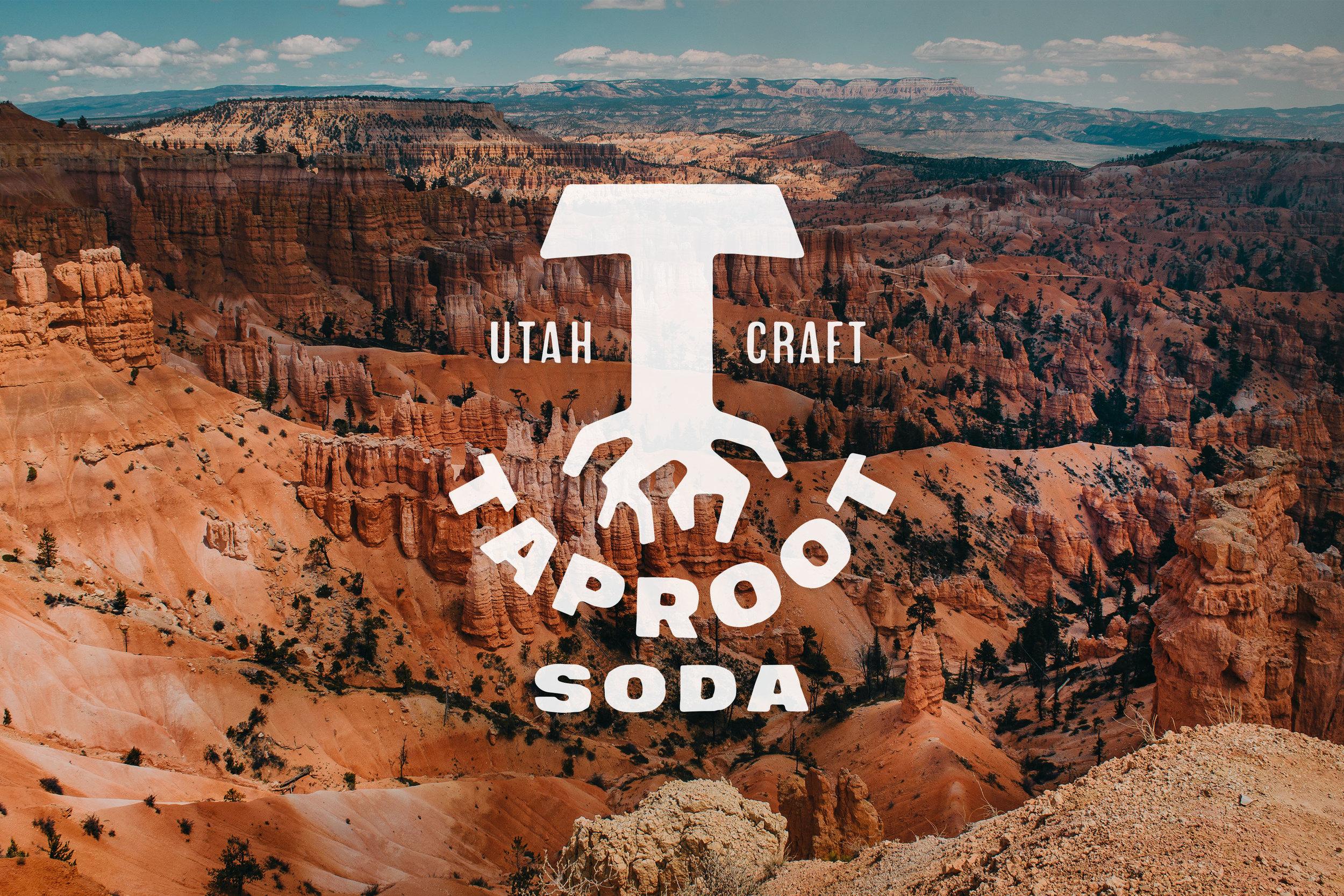 Taproot Soda Branding